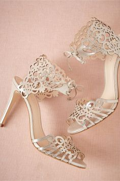 product | Motif Heels from BHLDN | laser cut details