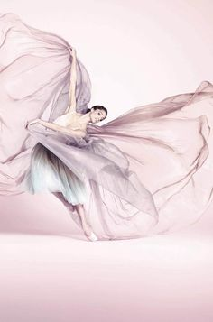 Ballet dancer Dorothée Gilbert in Repetto's Spring 2012 ad campaign.