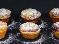 Receta Pasteles de Belém o pasteles de nata - Recetas de cocina, paso a paso, tutorial - YouTube
