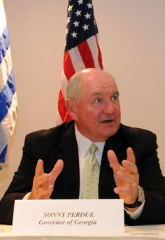 """Sonny Perdue is supposedly a follower of Gothard, who is supposedly a sex offender leader of a """"Christian"""" cult."""
