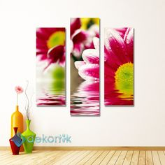 Floral Violet  Tablo #parçalı_kanvas_tablolar
