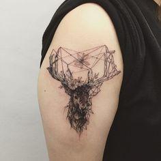 "1337tattoos: "" hongdamkt "" ☾ tattoo blog here ☽"
