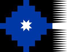 Lautaro flag - Flag of the Mapuches - Wikipedia Chili, Tattoo Hals, Don Quixote, Flags Of The World, Native Art, Blackwork, Nativity, Tatoos, Native American