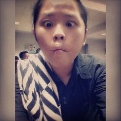 Before the exam just selfie