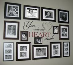 Creating a photo gallery wall can be a perfect way to fill a large wall and display many photos at once. Finding an arrangement that you love is the first step in having a gallery wall that you ar…