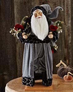 Shades of Christmas Santa by Lynn Haney at Horchow.