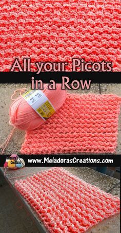 Crochet pattern &tutorial that teaches you how to do this very easy to do lacy stitch. #crochet #freecrochetpattern #crochetpattern #meladorascreations #crochetstitch