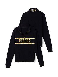 Purdue University Boyfriend Half Zip