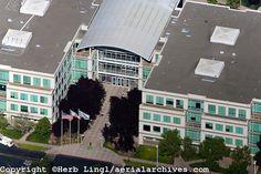 apple valley ca apple corp | aerial photograph Cupertino, San Clara county, California