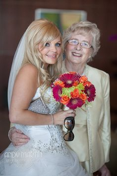 Bride and Grandmother #wedding