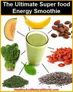 The Ultimate Super Food Energy Smoothie