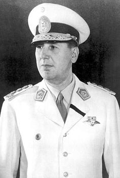 Juan Peron: Dictator of Argentina, his wife was the famous Evita