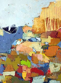 Landscape by j gustlin #colorful #abstract #art