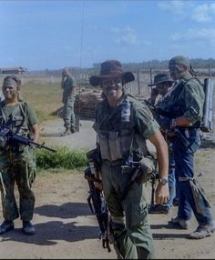 Vietnam, Navy SEALS getting ready to go Destroy something ...