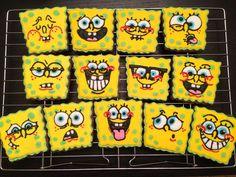 Spongebob Squarepants Cookies