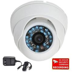 VideoSecu Day Night Vision CCTV Home Security Camera CCD Outdoor Vandal Proof 420TVL 3.6mm Wide View Angle Lens with Free... $49.99