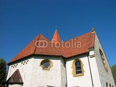 Das Kirchenschiff der evangelischen Kirche in Helpup bei Detmold im Kreis Lippe am Teutoburger Wald