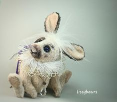 Flocke by Lisa Kurylec Giraffe, Elephant, Lemur, Lace Collar, Orangutan, Chipmunks, Cute Bunny, Panda Bear, Hello Everyone