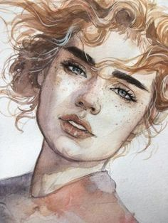 Painting ideas abstract inspiration art tutorials ideas for 2019 Watercolor Portraits, Watercolor Paintings, Tattoo Watercolor, Nature Paintings, Flower Watercolor, Abstract Portrait, Watercolor Ideas, Watercolor Portrait Tutorial, Portrait Acrylic