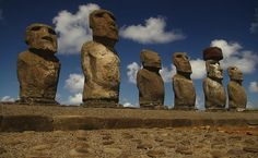 Easter Island is a Polynesian island in the southeastern Pacific Ocean. Easter Island is famous for its 887 extant monumental statues, called moai, created by the early Rapanui people. More at http://www.global-awareness.org/resources/globalchange_files/ch05.html