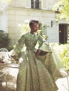 Lupita Nyong'o. Vogue October 2015