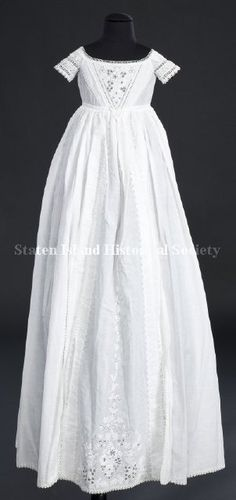 Such a beautiful baptismal gown!