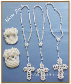 Bubbles, Baubles And Beads Marque-pages Au Crochet, Crochet Sachet, Beau Crochet, Crochet Cross, Crochet Baby Booties, Thread Crochet, Crochet Doilies, Crochet Flowers, Crochet Stitches