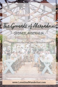 The Grounds of Alexandria is an instant favorite. I love how the area is repurposed into a destination on its own. Alexandria Sydney, The Grounds Of Alexandria, Australian Road Trip, Australia Travel Guide, Brisbane Queensland, Wanderlust Travel, Western Australia, Travel Guides, Travel Inspiration