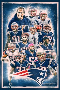 Designing Sport — The 2015 New England Patriots