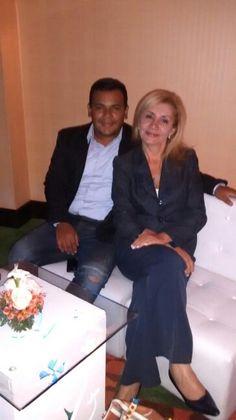 Con Iván López