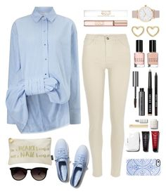 """""""Simple."""" by nosha369 ❤ liked on Polyvore featuring moda, Victoria, Victoria Beckham, River Island, Keds, Nails Inc., Ray-Ban, Uncommon, Bobbi Brown Cosmetics, Marc by Marc Jacobs i The Horse"""