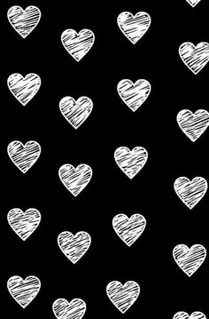 Inspiring image black and white, heart, wallpaper by OwlPurist - Resolution - Find the image to your taste Tier Wallpaper, Heart Wallpaper, Tumblr Wallpaper, Animal Wallpaper, Love Wallpaper, Cellphone Wallpaper, Black Wallpaper, Designer Wallpaper, Pattern Wallpaper