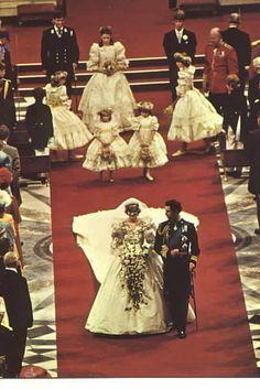 Royal Wedding Princess Diana & Prince Charles