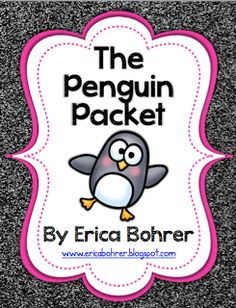 Erica Bohrer's First Grade: Penguins Unit for primary grades!