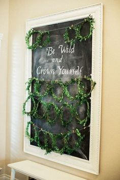 Greet guests with wreaths - Celebrate Mom-to-Be with a Blessingway Instead of a Baby Shower - Photos