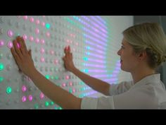 Google installation features 6,000 light-up buttons powered by open-source…