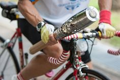 Kenneth Kang, cyclist, carries the Queen's baton in Singapore. | Flickr - Photo Sharing!