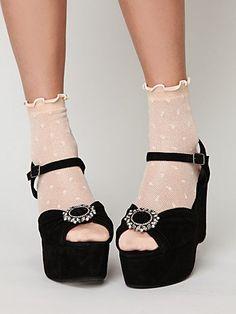 socks :) shoeclip