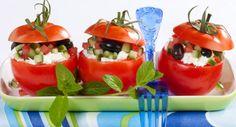 Tomates farcies au chèvreVoir la recette des Tomates farcies au chèvre >>