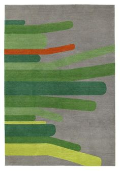 Homegrown Green by Edward Barber and Jay Osgerby | Tibetan Wool Rug