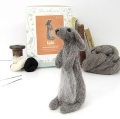 Joe's Toes - Rabbit Needle Felting Kit