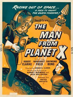 The Man from Planet X (United Artists, 1951)