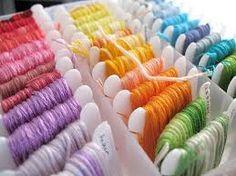 выбираем нитки для вышивания