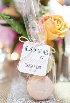 Featured Photographer: Cassi Claire Photography; Wedding favor idea.