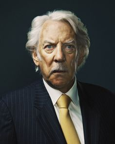 Donald Sutherland by Andy Ryan