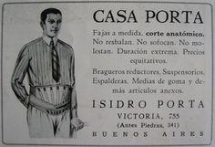 """Las """"Fajas de Casa Porta"""" también para señores..."""