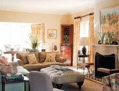 Una clásica casa rural decorada al mejor estilo inglés... detalles encantadores que conquistan a primera vista...