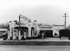 Cucamonga Service Station, also called the Richfield Service Station . Vintage Gas Pumps, Old Gas Stations, Filling Station, Rancho Cucamonga, Route 66, Hot Rods, Old School, Past, Restoration