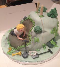 Coolest Metal Detector Cake... Coolest Birthday Cake Ideas