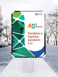 40º Aniversário de Espinho by YAGR DESIGN, via Behance